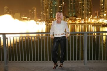 Two Outfits for Dubai City Nights