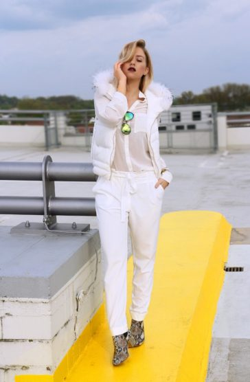 Clean Look – How to Wear White on White
